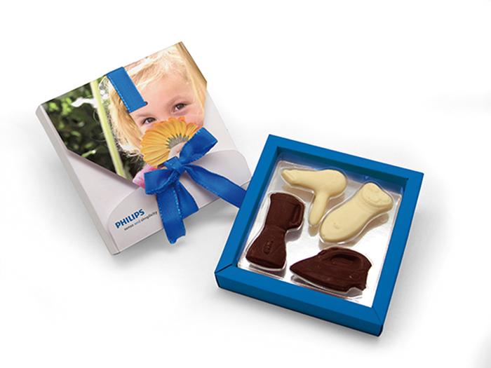 Caja chocolate creativo MEDIANA
