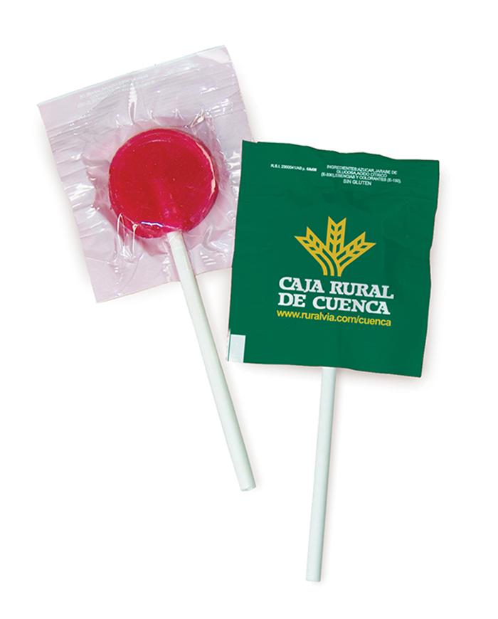 Piruleta 5x5 CIRCULAR(con o sin azúcar)
