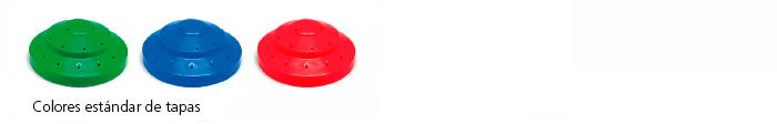 Colores tapas dispensador de PIRULETAS