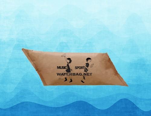 Bolsas de agua de papel